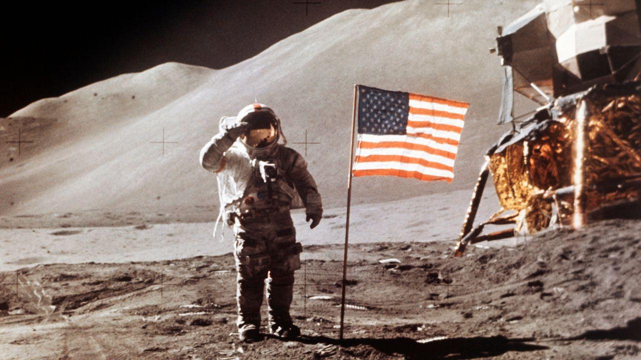 Le 30 juillet 1971, le pilote du module de la mission Apollo 15, James Irwin est photographié sur la Lune. (Image d'illustration). [AP NASA - Keystone]