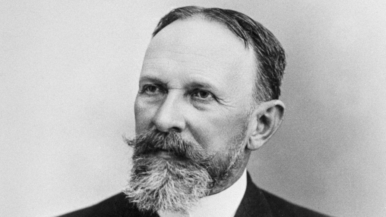 Carl Spitteler, Prix Nobel de Littérature de 1919. [Keystone]