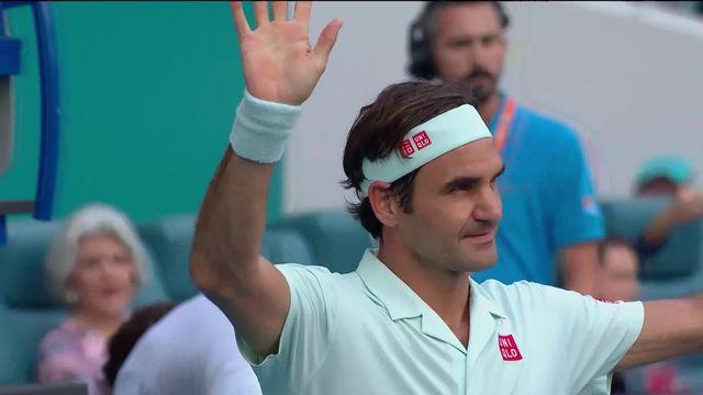 ATP Miami, 1-8e: Medvedev (RUS) - Federer (SUI) ( 4-6, 2-6) [RTS]