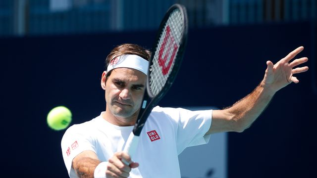 Federer est en lice pour remporter le 101e titre de sa carrière, son 4e à Miami. [Joel Auerbach - Keystone]