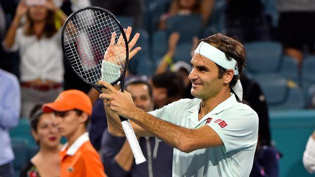 Federer est en lice pour remporter le 101e titre de sa carrière, son 4e à Miami. [Reuters]