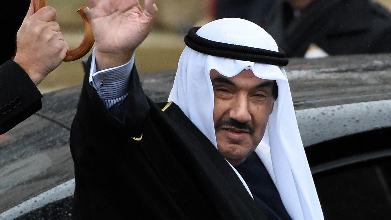 Le sheikh Nasser Al-Mohammed, photographié ici en décembre 2014. [John Thys - AFP]