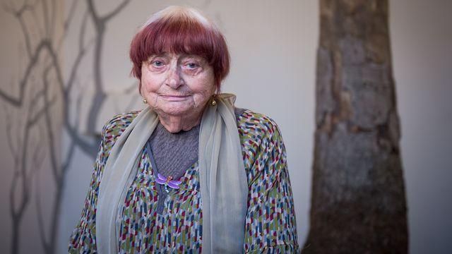 La réalisatrice Agnès Varda, le 23 mars 2019 à Chaumont-sur-Loire. [GUILLAUME SOUVANT  - AFP]