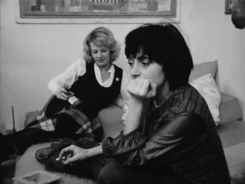 Delphine Seyrig et Agnès Varda en 1972. [RTS]