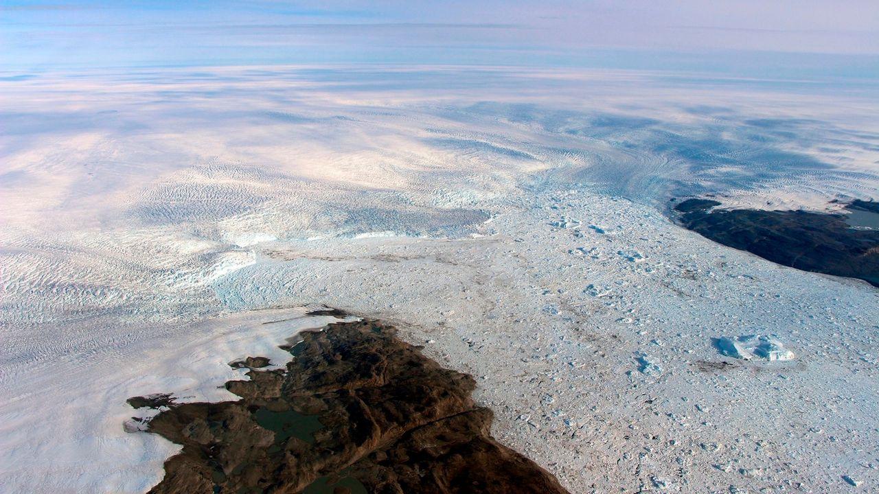 Le glacier Jakobshavn récupère un peu de volume. [NASA via AP]