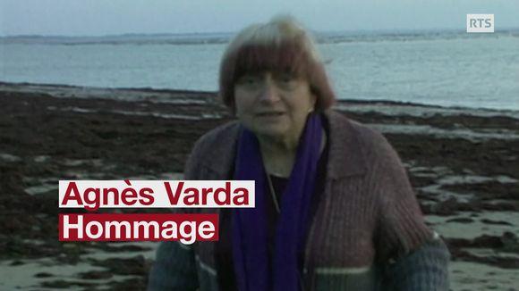 Hommage à la cinéaste française Agnès Varda, décédée à l'âge de 90 ans