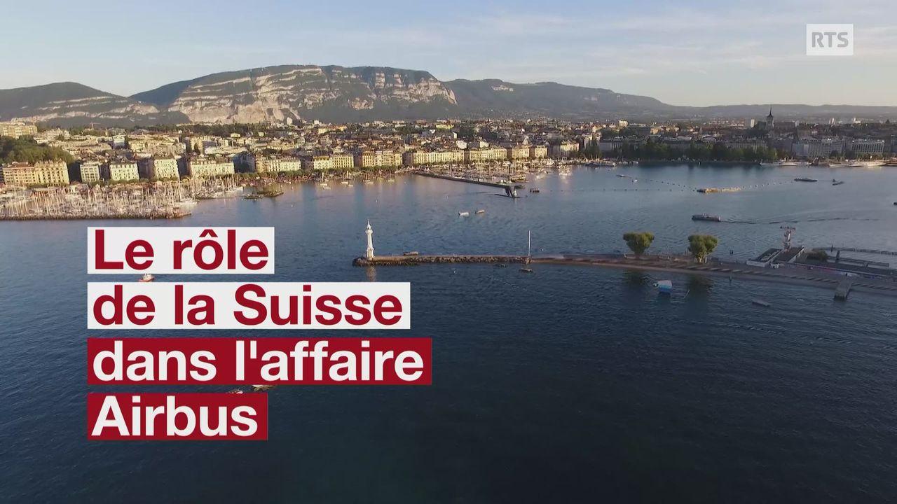 Les ventes opaques d'Airbus passaient par la Suisse [RTS]