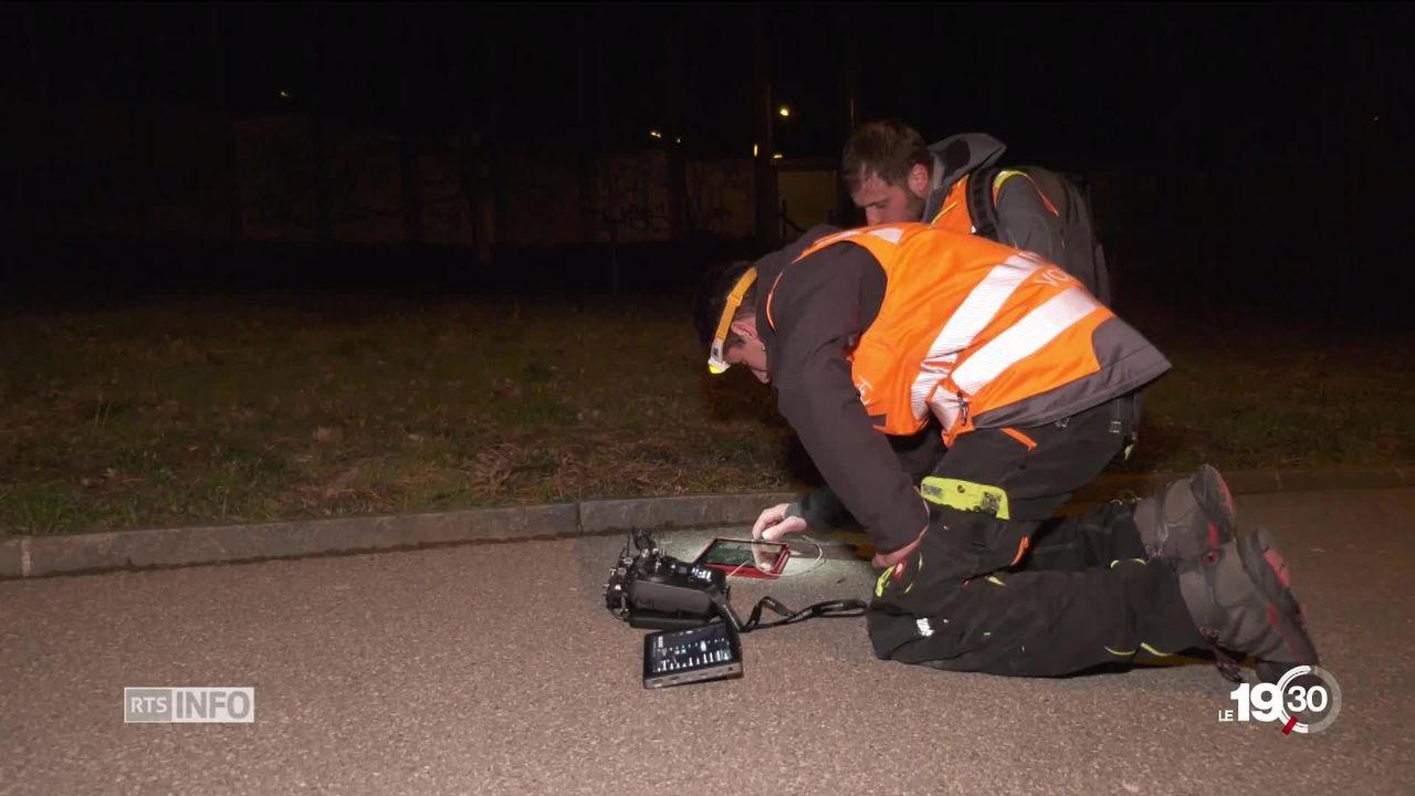 Un drone permet de détecter les failles du chauffage à distance lausannois [RTS]