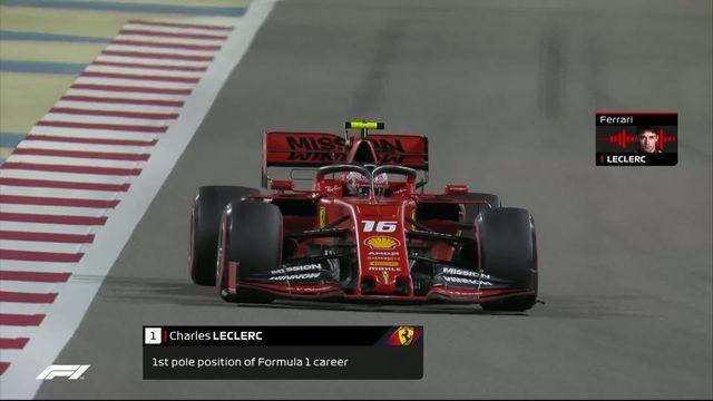 GP de Bahreïn (#2), Q3: Première pôle en carrière pour Leclerc (MON) [RTS]