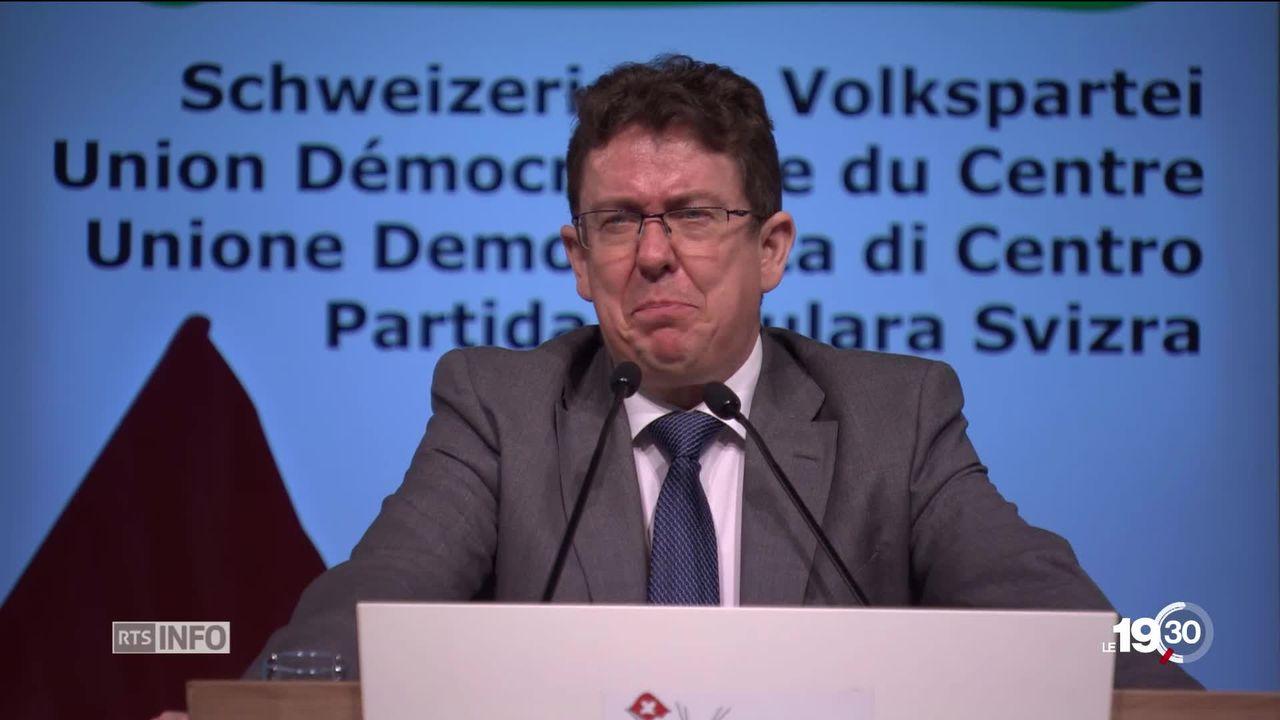L'UDC est divisée sur la réforme fiscale et le financement de l'AVS [RTS]