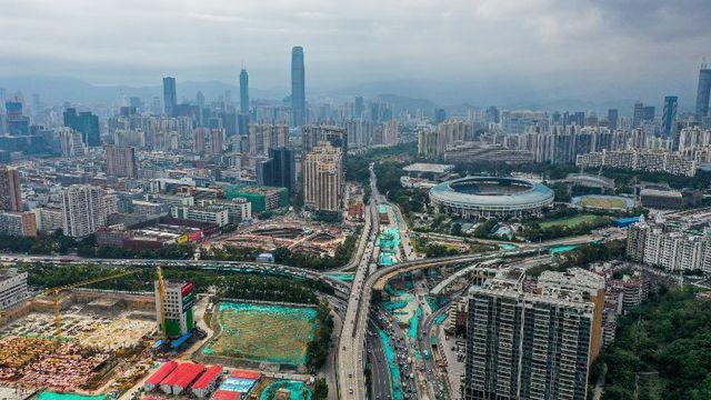 La mégapole chinoise de Shenzhen. [Imaginechina - afp]