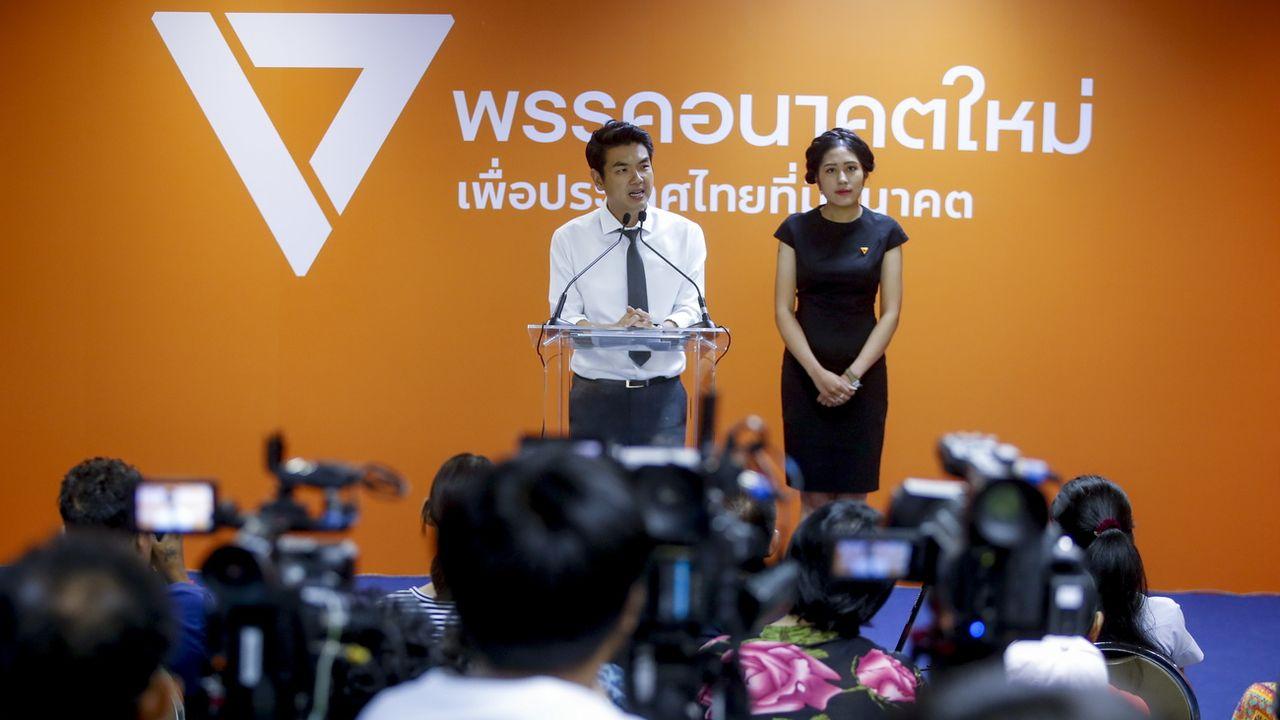 Le parti d'opposition thaïlandais Future Forward a déposé des plaintes pour achats de votes. [Diego Azubel - EPA/Keystone]