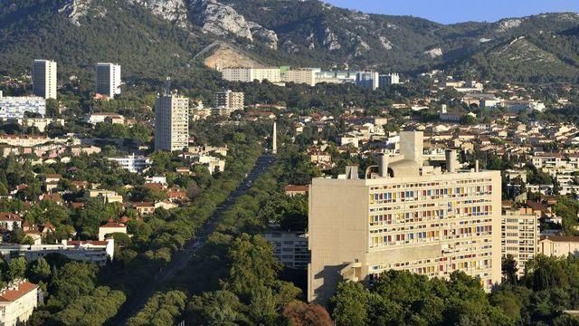 La Cité Radieuse de Le Corbusier à Marseille. [Bertrand Rieger / Hemis - afp]