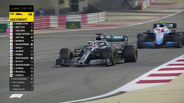 GP de Bahreïn (#2): première victoire de la saison pour Lewis Hamilton  (GBR) [RTS]