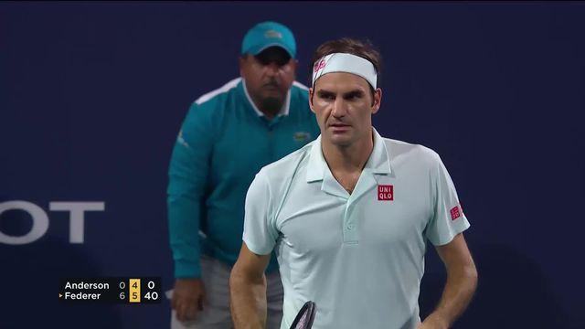 Tennis: la tournée américaine de Federer [RTS]