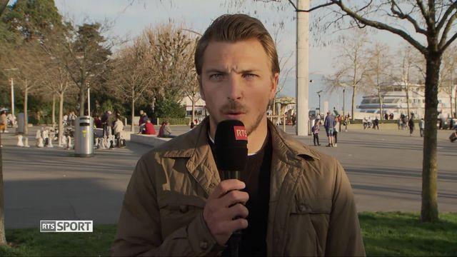 Football, Challenge League: Interview d'Alexandre Pasche, capitaine de Lausanne-Sport (1-2) [RTS]