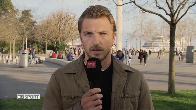 Football, Challenge League: Interview d'Alexandre Pasche, capitaine de Lausanne-Sport (2-2) [RTS]