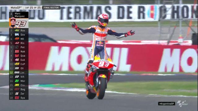 Rio Hondo (ARG), Moto GP: victoire de Marc Marquez (ESP) [RTS]