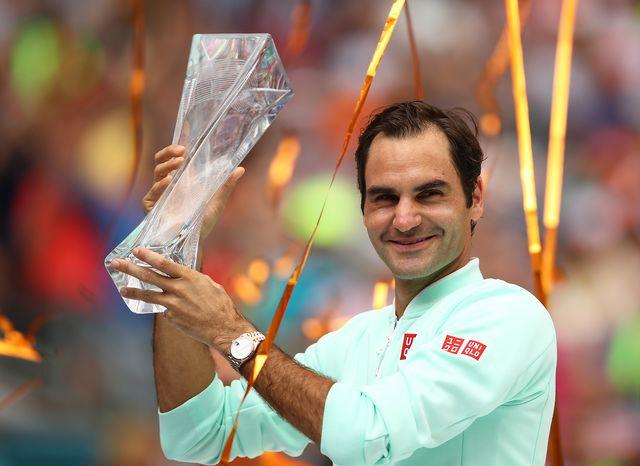 Federer n'a eu besoin que d'une heure et trois minutes pour l'emporter. [Julian Finney - AFP]