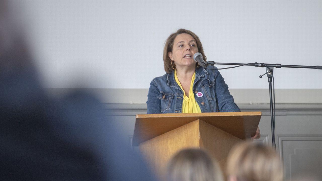 Ada Marra a déposé sa candidature auprès du PS pour le Conseil des Etats. [Marcel Bieri - Keystone]