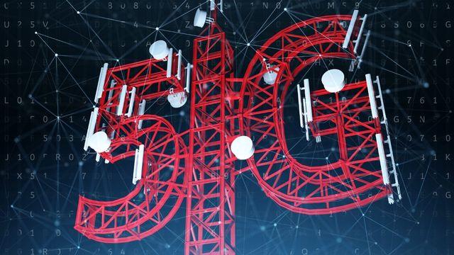 Il faudra construire 15'000 antennes de plus pour couvrir le territoire avec la 5G en Suisse. [Sergii Iaremenko / Science Photo Library - AFP]