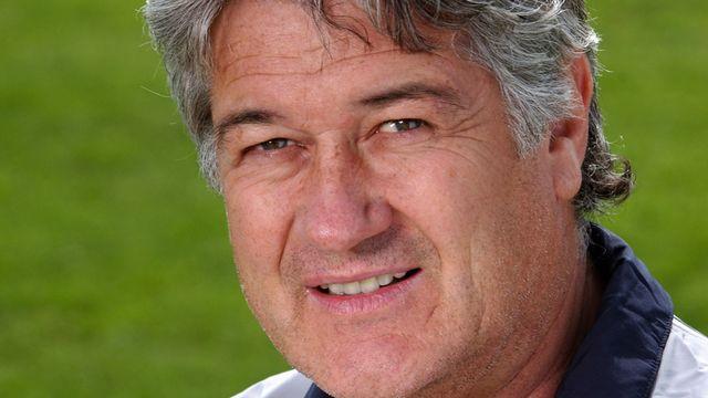 Eric Burgener, entraineur des gardiens de l'equipe suisse de football. [Laurent Gillieron - Keystone]