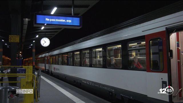 Perturbations sur la ligne CFF Lausanne - Genève: des centaines de passagers en rade. [RTS]