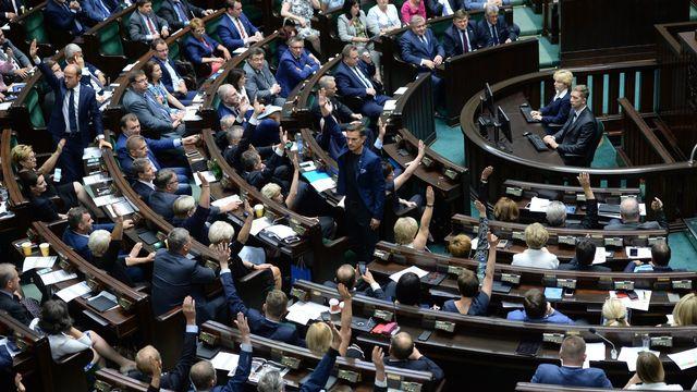 Le Parlement polonais en 2017. (Image d'illustration). [Jacek Turczyk - EPA]