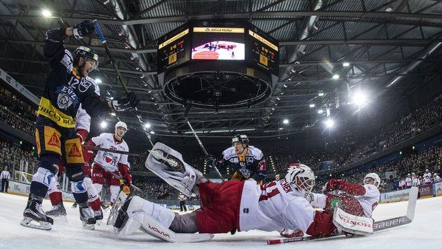 Lausanne a réalisé un beau parcours en se qualifiant pour la 1ère fois de son histoire en demi-finales. [Alexandra Wey - Keystone]