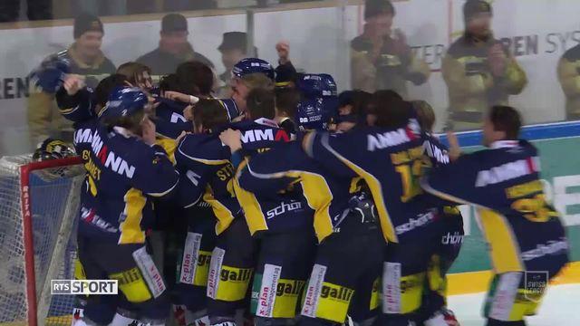 Acte IV, Langenthal – La Chaux-de-Fonds (3-1): Langenthal champion de Swiss League [RTS]