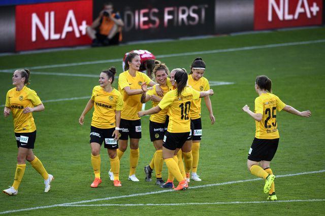Coupe de Suisse  YB - FC Zurich Finale dames [Anthony Anex - Keystone]