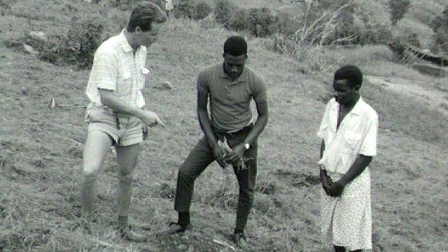 Coopération suisse au Rwanda, 1967. [RTS]
