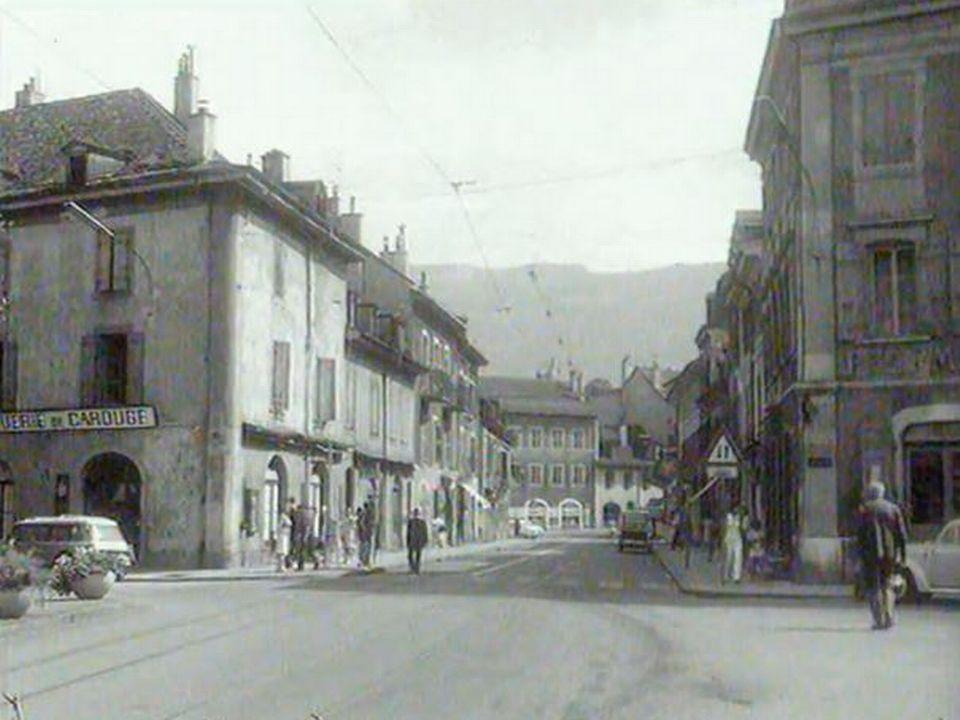Reportage à Carouge, une ville développée sous l'Ancien Régime.