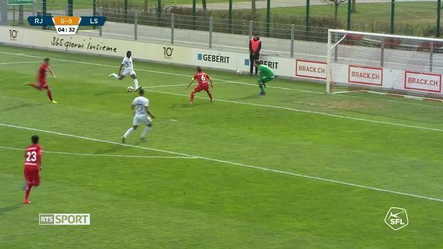 Challenge League, 28e journée: Rapperswil - Lausanne (0-1), le résumé du match [RTS]