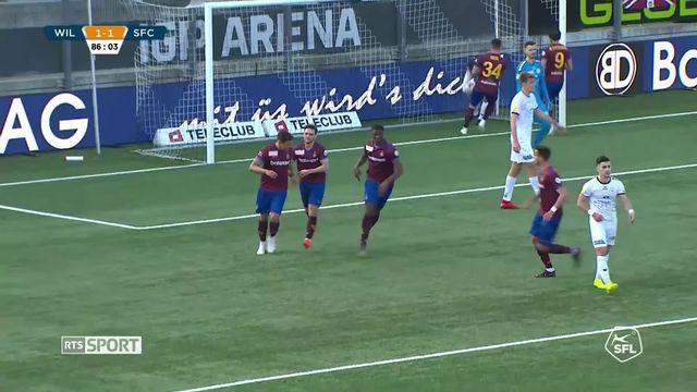 Challenge League, 28e journée: Wil - Servette FC (1-1), le résumé du match [RTS]