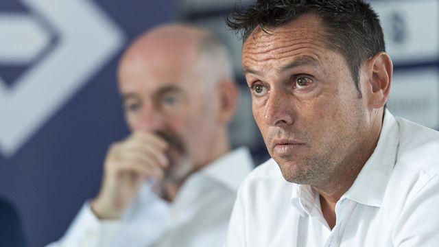 Pablo Iglesias, directeur sportif du FC Lausanne-Sport. [Patrick Huerlimann - Keystone]