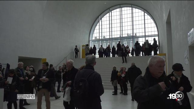 Près de 21'000 visiteurs pour les portes ouvertes du nouveau Musée cantonal des Beaux Arts à Lausanne. Le bâtiment a séduit. [RTS]