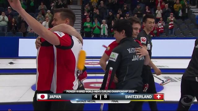 Championnat du monde messieurs, La Suisse 3e ! [RTS]