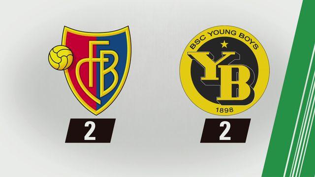 Super League, 25e journée: Bâle - Young Boys (2-2) [RTS]
