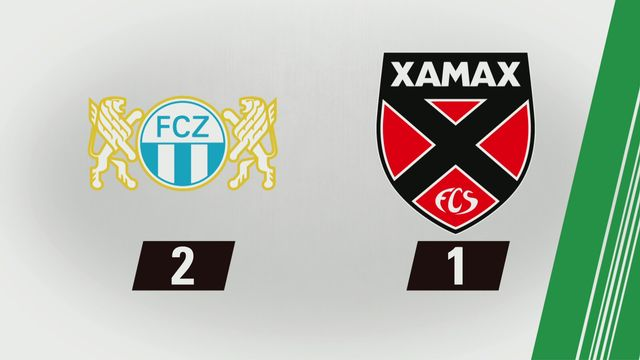 Super League, 25e journée: Zurich - NE Xamax FCS (2-1) [RTS]