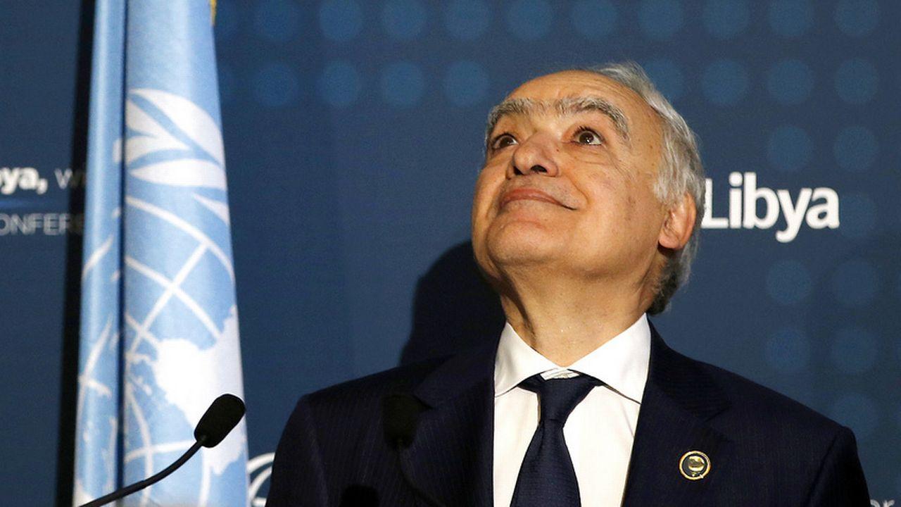 L'envoyé spécial de l'ONU en Libye Ghassan Salamé. [Antonio Calanni - AP/Keystone]