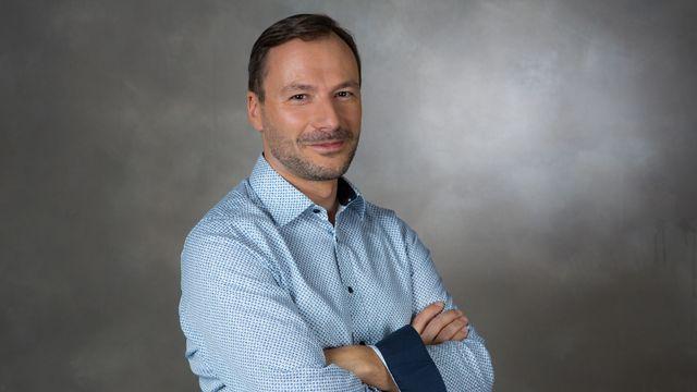 """Philippe Girard, producteur de l'émission """"On en parle"""" sur La 1ère. [Anne Kearney - RTS]"""