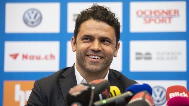 Uli Forte avait déjà entraîné entraîné GC lors de la saison 2012-2013. [Ennio Leanza - Keystone]