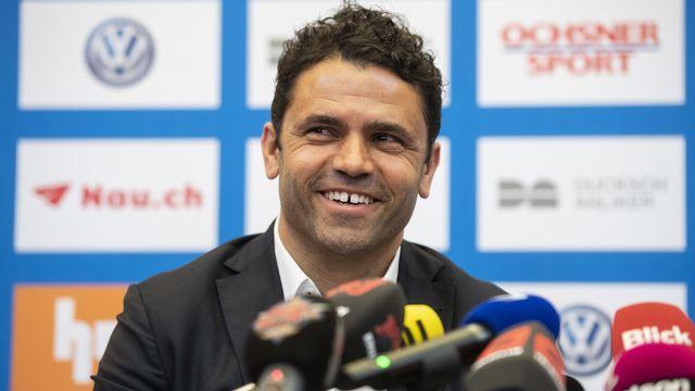 Uli Forte, nouvel entraîneur de Grasshopper. [Ennio Leanza - Keystone]