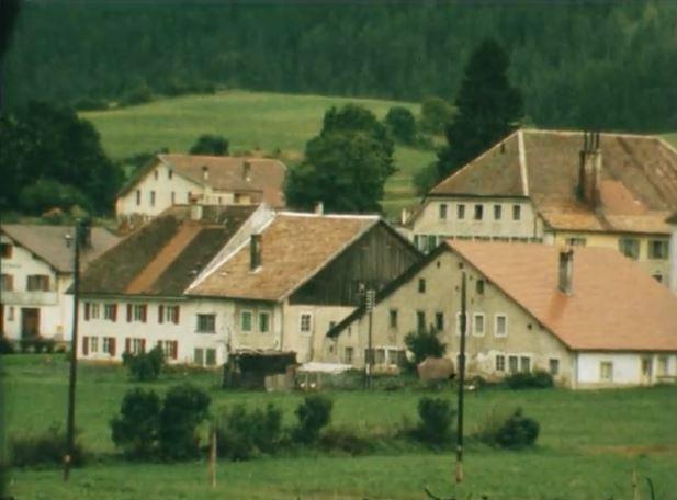 Val-de-Travers dans les archives de la RTS