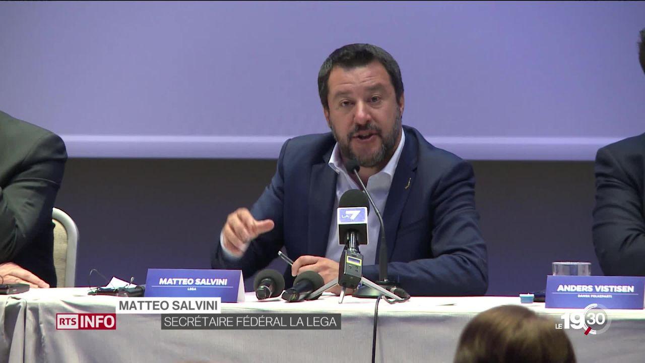 Matteo Salvini veut gouverner l'Europe, mais ça sera compliqué! L'Europe économique des années 60 et 70 a évolué. [RTS]