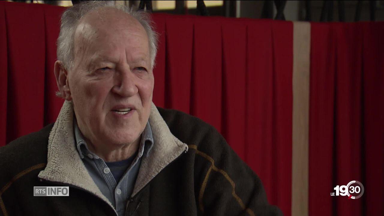"""Werner Herzog est cette année le Maître du Réel du festival """"Visions du Réel"""" à Nyon. Le réalisateur reçoit un Sesterce d'or. [RTS]"""