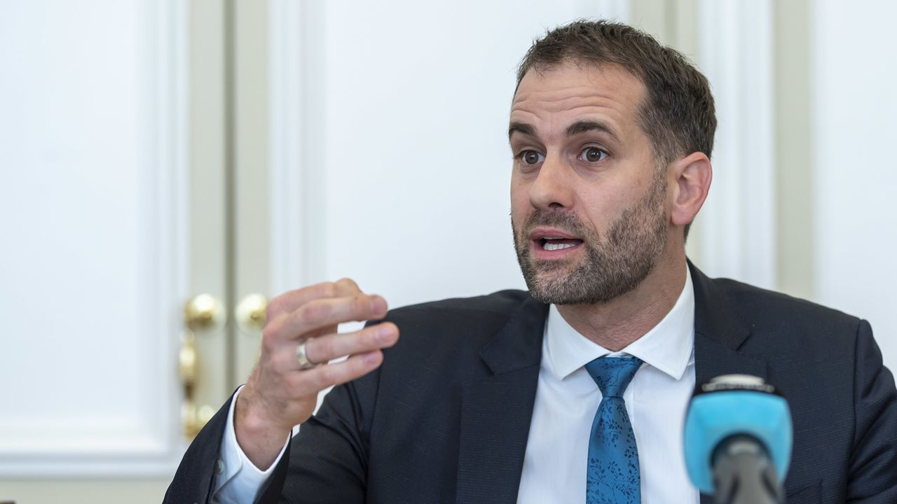 Le président du gouvernement genevois Antonio Hodgers. [Martial Trezzini - Keystone]