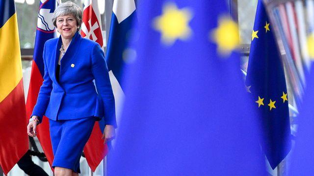 La Première ministre britannique Theresa May devra encore accepter l'offre de l'Union européenne. [PHILIPPE HUGUEN - AFP]