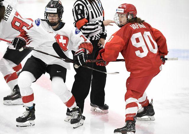Sabrina Zollinger et les Suissesses quittent la Finlande sans la moindre victoire. [Heikki Saukkomaa - Keystone]